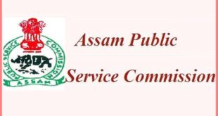 Assam Public Service Commission (APSC) recruitment of Principal in Luit Konwar Rudra Baruah State College of Music