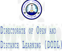 DIRECTORATE OF OPEN AND DISTANCE LEARNING DIBRUGARH UNIVERSITY ADMISSION NOTICE 2017