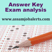 Answer Key and Exam Analysis of DTE Junior Assistant