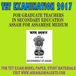 Tet Examination 2017 For Graduate Teachers In Secondary