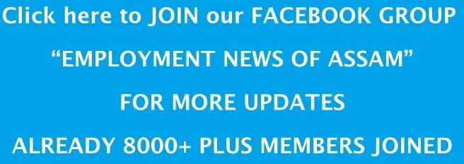Employment News of Assam FACEBOOK GROUP