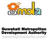 Guwahati Metropolitan Development Authority Recruitment 2017 for various posts