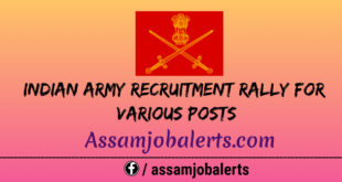 Indian Army Recruitment Rally For Various Posts