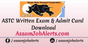 ASTC Exam revised date 18-02-2018 for Assistant Personnel Officer/ JE/ Foreman/ Internal Auditor/ UDA / LDA/ Section Assistant recruitment