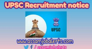 UPSC Recruitment notice 2018 for total 415 posts in National Defence Academy & Naval Academy Examination (NDA)