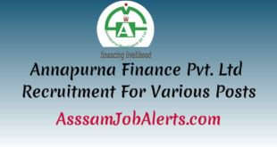 Annapurna Finance Pvt. Ltd Recruitment