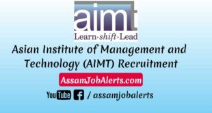 Asian Institute of Management and Technology (AIMT) Recruitment