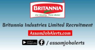 Britannia Industries Limited Recruitment