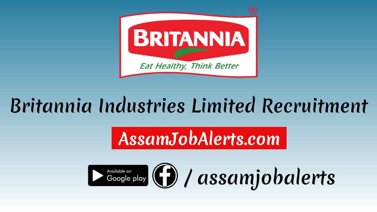 britannia industries limited recruitment