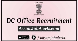 Deputy Commissioner Nagaon Recruitment For Junior Assistant 2018