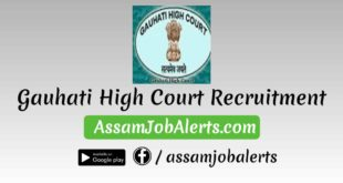 Gauhati High Court Recruitment For Various Posts