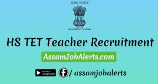 HS TET Teacher Recruitment At Darrang District For Various Subjects
