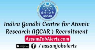 IGCAR Recruitment Trade Apprentice Total 300 Vacancies