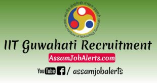 IIT Guwahati Office Assistant Recruitment