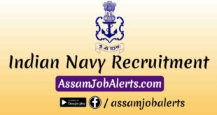 Indian Navy Recruitment For North East
