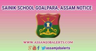 RESULTS OF All INDIA SAINIK SCHOOLS ENTRANCE EXAMINATION (2018-19) SAINIK SCHOOL GOALPARA, ASSAM