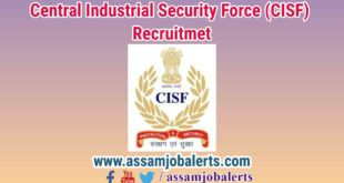 Central Industrial Security Force (CISF) Recruitment 2018
