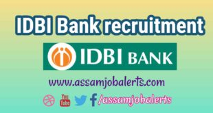 IDBI Bank recruitment 2018 of Executive for total 760 posts
