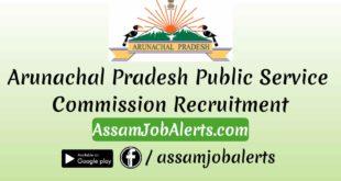 Arunachal Pradesh Public Service Commission Recruitment For Accountant