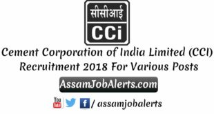 Cement Corporation of India Limited (CCI) Recruitment 2018
