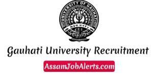 Gauhati University Recruitment 2018 Junior Research Fellow(JRF) Recruitment