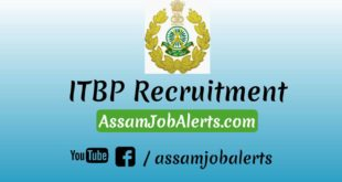ITBP Recruitment For Constable (Driver)