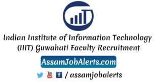Indian Institute of Information Technology (IIIT) Guwahati Faculty Recruitment