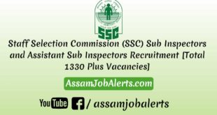 Staff Selection Commission (SSC) SI and ASI Recruitment