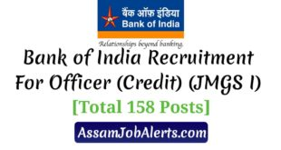 Bank of India Recruitment For Officer