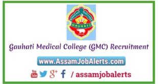 Gauhati Medical College GMC Recruitment of Research Assistant and Field Worker/ Lab technician Posts