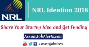 Numaligarh Refinery Limited (NRL) Ideation 2018 Assam Job Alert