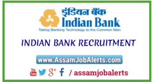 INDIAN BANK RECRUITMENT OF SPECIALIST OFFICERS FOR TOTAL 145 POSTS