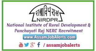 National Institute of Rural Development & Panchayati Raj NERC Recruitment 2018 For Accounts Assistant Post