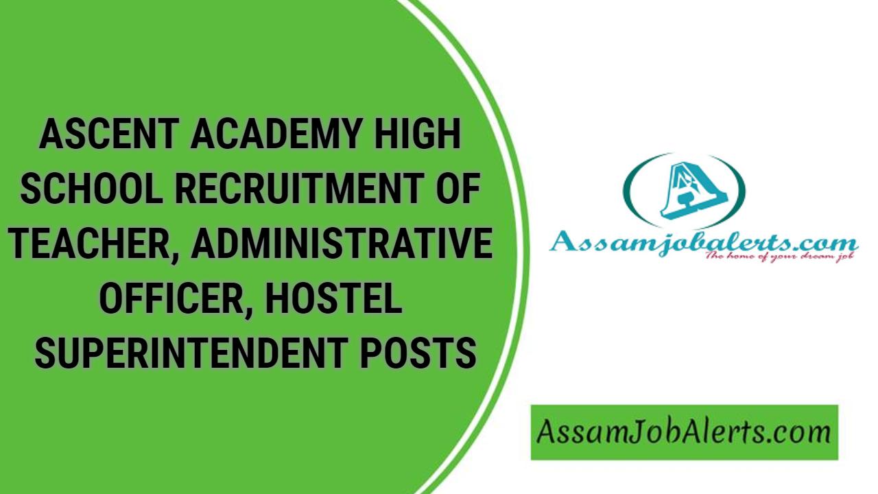 ascent academy high school recruitment of teacher
