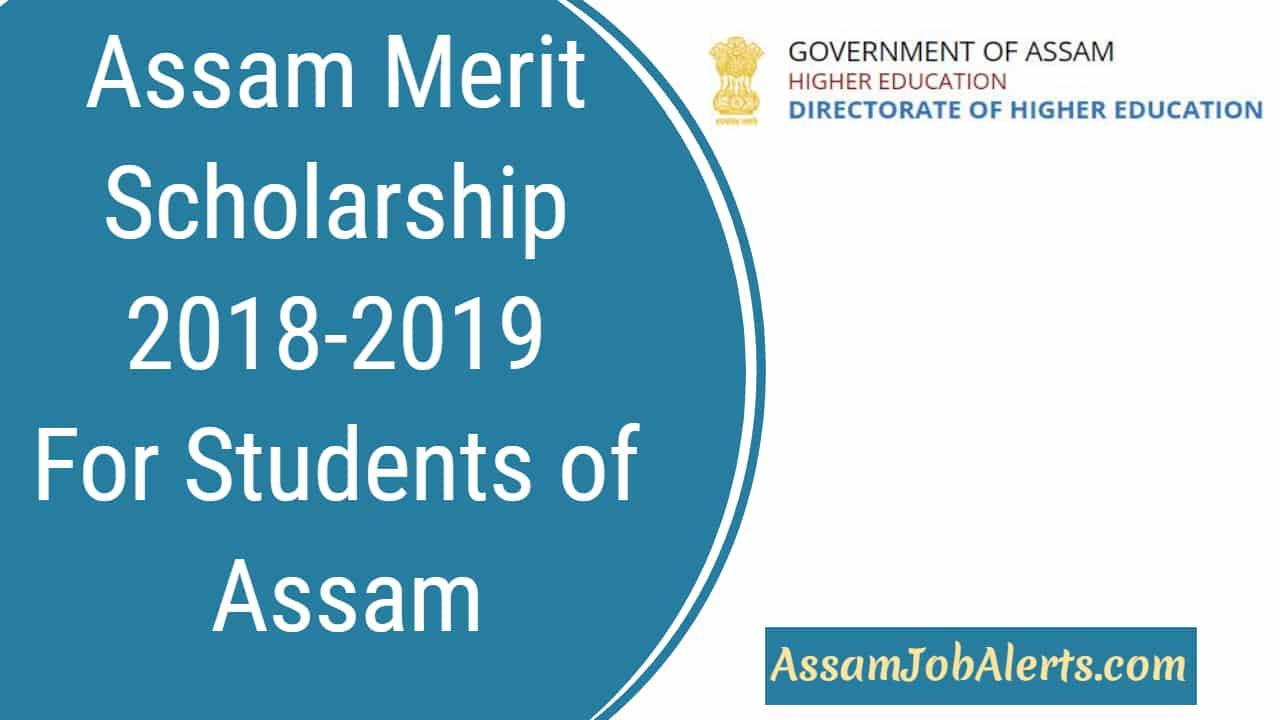 assam scholarship 2018