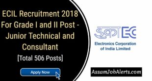 ECIL Recruitment 2018 For Grade I and II Post