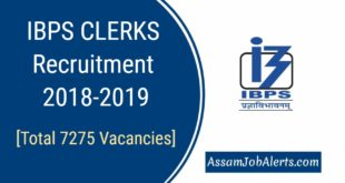IBPS CRP CLERKS-VIII Recruitment 2018-2019