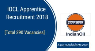 IOCL Apprentice Recruitment 2018