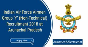 Indian Air Force Airmen Group 'Y' (Non-Technical) Recruitment 2018