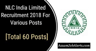 NLC India Limited Recruitment 2018 For Various Posts