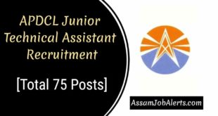APDCL Junior Technical Assistant Recruitment 2018