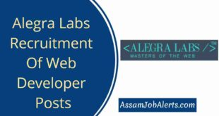 Alegra Labs Recruitment Of Web Developer Posts