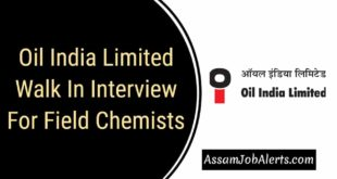 OIL Walk In Interview For Field Chemists