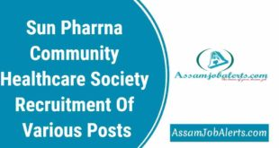 Sun Pharrna Community Healthcare Society Recruitment Of Various Posts