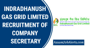 INDRADHANUSH GAS GRID LIMITED RECRUITMENT OF COMPANY SECRETARY