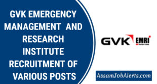 GVK EMERGENCY MANAGEMENT AND RESEARCH INSTITUTE RECRUITMENT OF VARIOUS POSTS