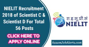 NIELIT Recruitment 2018 of Scientist C & Scientist D For Total 56 Posts