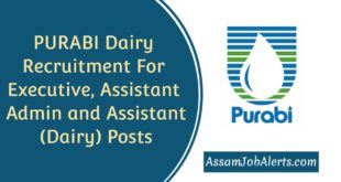 PURABI Dairy Recruitment For Executive, Assistant Admin and Assistant (Dairy) Posts