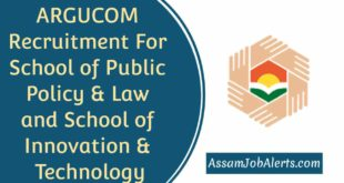 ARGUCOM Recruitment For School of Public Policy