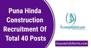 Puna Hinda Construction Recruitment Of Total 40 Posts